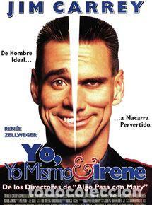 JIM CARREY. YO, YO MISMO E IRENE. (Cine - Posters y Carteles - Comedia)