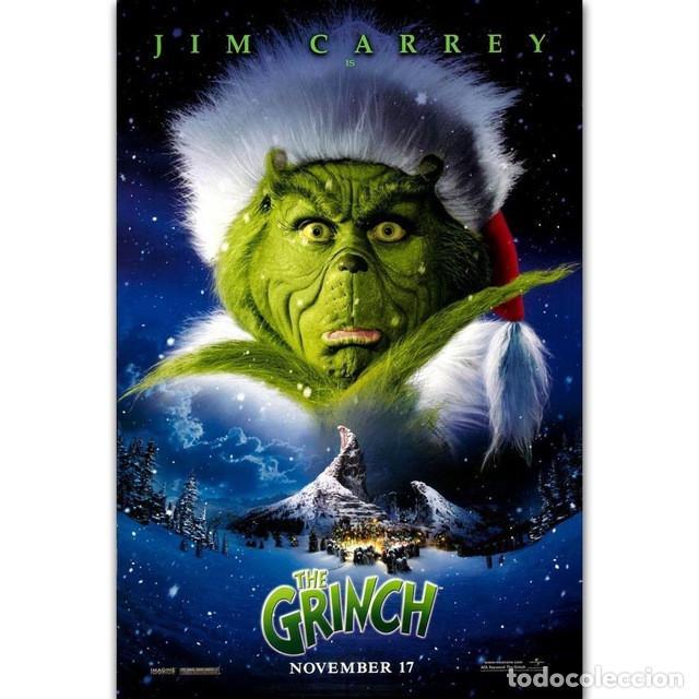 JIM CARREY. EL GRINCH.(2000) (Cine - Posters y Carteles - Comedia)