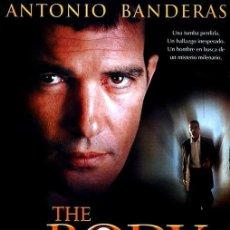 Cine: THE BODY.EL CUERPO.ANTONIO BANDERAS.. Lote 147378306