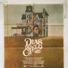Cine: DIAS DEL CIELO - POSTER CARTEL ORIGINAL - RICHARD GERE SAM SHEPARD TERENCE MALICK DAYS OF HEAVEN. Lote 147466042