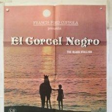 Cine: EL CORCEL NEGRO - POSTER CARTEL ORIGINAL - KELLY RENO TERI GARR MICKEY ROONEY THE BLACK STALLION. Lote 147471802