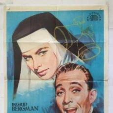 Cine: LAS CAMPANAS DE SANTA MARIA - POSTER CARTEL ORIGINAL - INGRID BERGMAN BING CROSBY LEO MCCAREY JANO. Lote 147473550