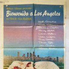 Cine: BIENVENIDOS A LOS ANGELES - POSTER CARTEL ORIGINAL - KEITH CARRADINE SALLY KELLERMAN ALAN RUDOLPH. Lote 147475538