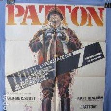 Cine: PATTON - POSTER ORIGINAL CINE - 100 CM X 70 CM. Lote 147589574