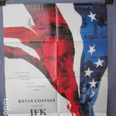 Cine: JFK - POSTER ORIGINAL CINE - 100 CM X 70 CM. Lote 147590738