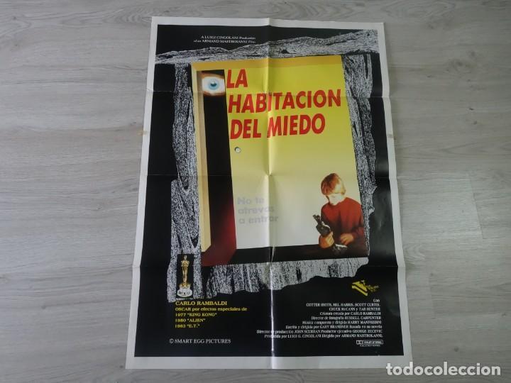 CARTEL LA HABITACIÓN DEL MIEDO - ORIGINAL - 70 X 100 CM APROX (Cine - Posters y Carteles - Terror)