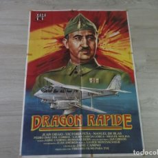 Cinema: CARTEL DRAGON RAPIDE - ORIGINAL - 70 X 100 CM APROX. Lote 147603798