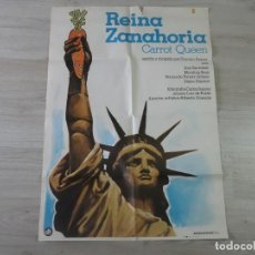 Cine: CARTEL REINA ZANAHORIA - ORIGINAL - 70 X 100 APROX. Lote 147605186