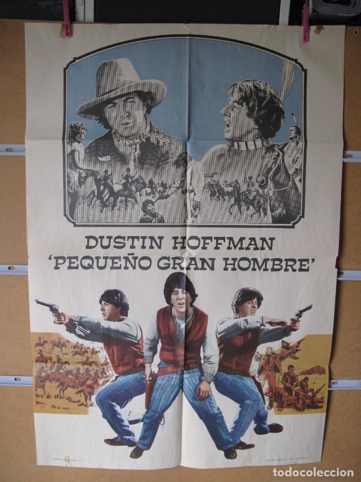 L1693 PEQUEÑO GRAN HOMBRE (Cine - Posters y Carteles - Aventura)