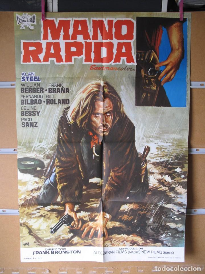 L1695 MANO RAPIDA (Cine - Posters y Carteles - Aventura)