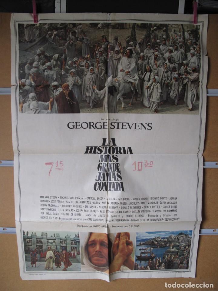 L1699 LA HISTORIA MAS GRANDE JAMAS CONTADA (Cine - Posters y Carteles - Aventura)