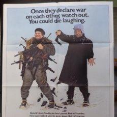 Cine: THE SURVIVORS MOVIE POSTER,AÑO 1983,ROBIN WILLIAMS,WALTER MATTHAU,1 SHEET. Lote 147728730