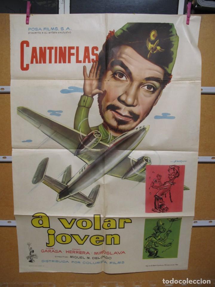 L1703 A VOLAR JOVEN (Cine - Posters y Carteles - Aventura)