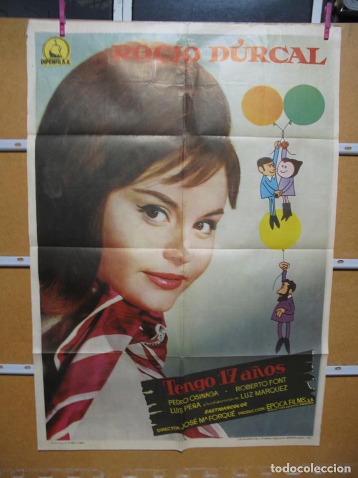 L1704 TENGO 17 AÑOS (Cine - Posters y Carteles - Aventura)
