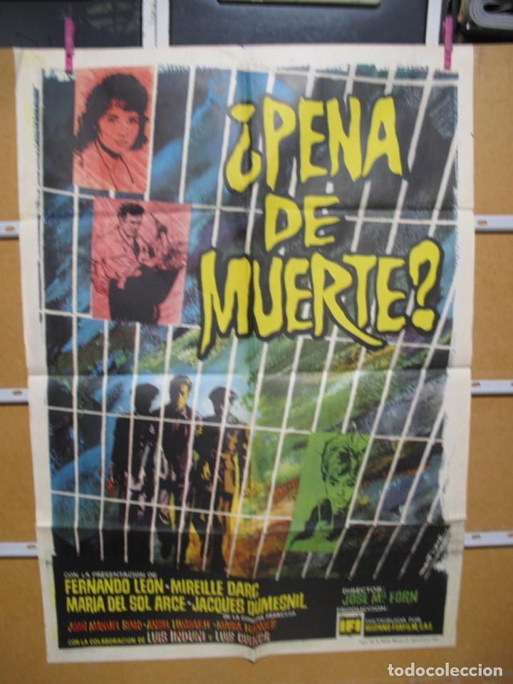 L1705 PENA DE MUERTE (Cine - Posters y Carteles - Aventura)