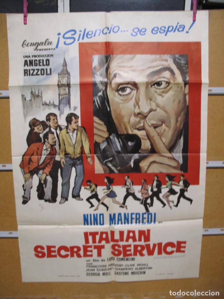 L1706 ITALIAN SECRET SERVICE (Cine - Posters y Carteles - Aventura)