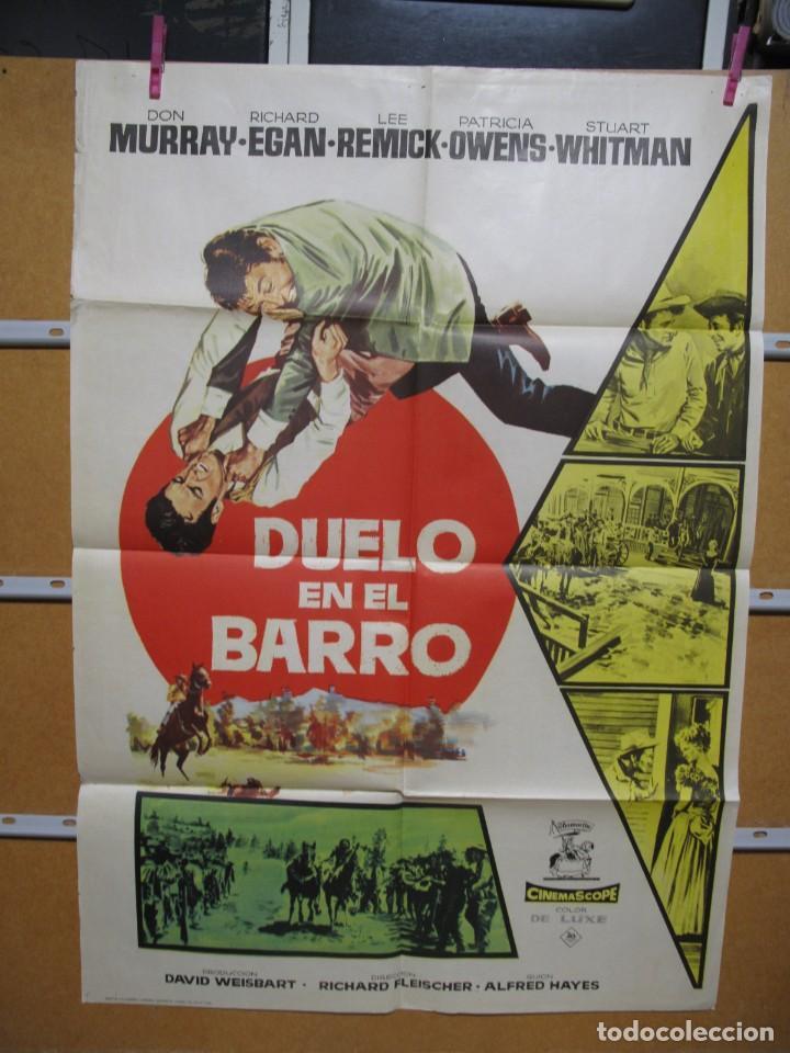 L1707 DUELO EN EL BARRO (Cine - Posters y Carteles - Aventura)