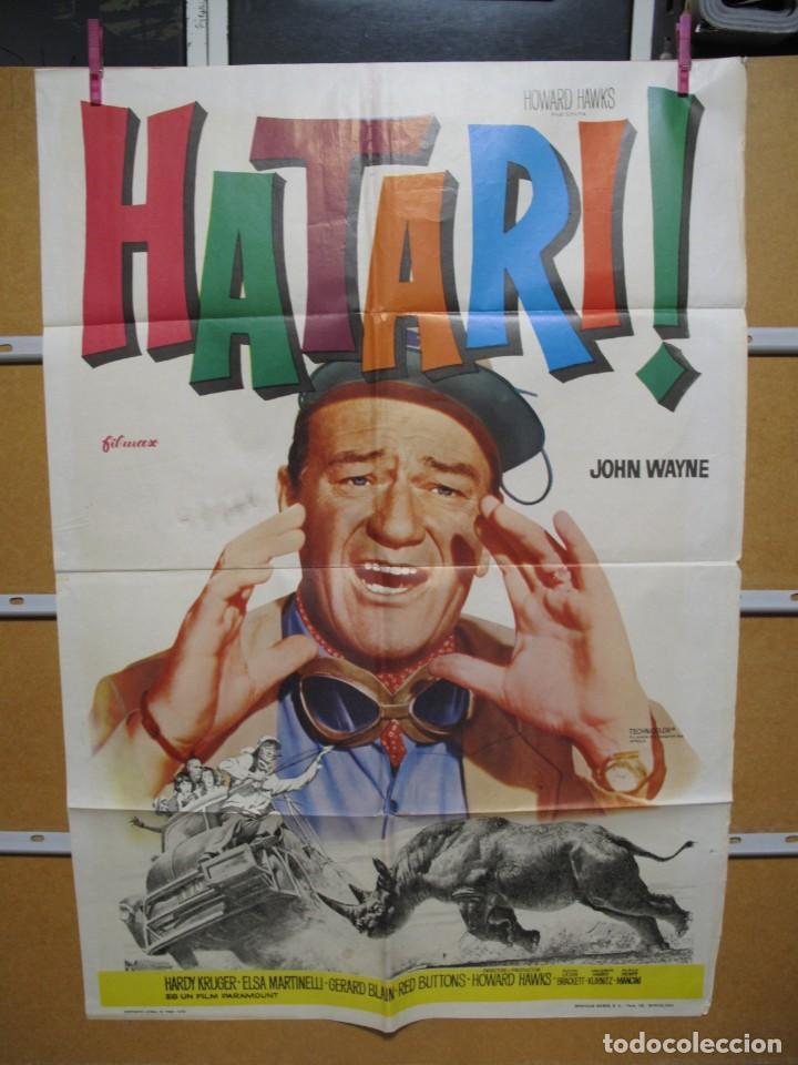 L1711 HATARI (Cine - Posters y Carteles - Aventura)