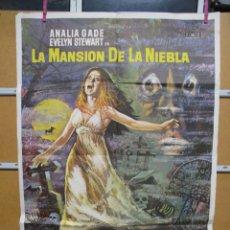Cine: L1713 LA MANSION DE LA NIEBLA. Lote 147773566