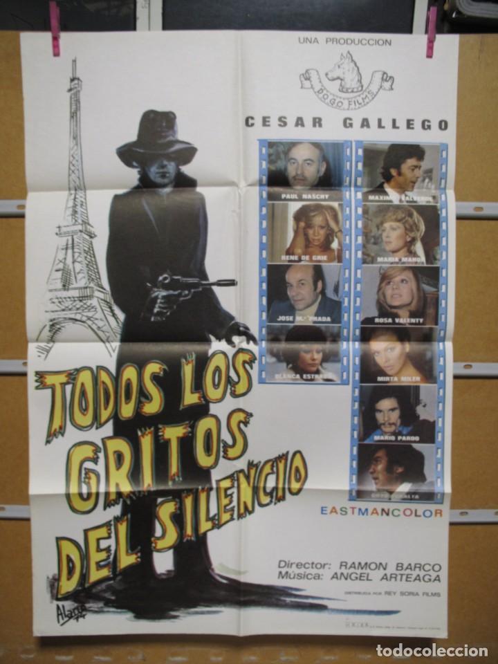 L1714 TODOS LOS GRITOS DEL SILENCIO (Cine - Posters y Carteles - Aventura)