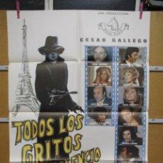 Cine: L1714 TODOS LOS GRITOS DEL SILENCIO. Lote 147773658