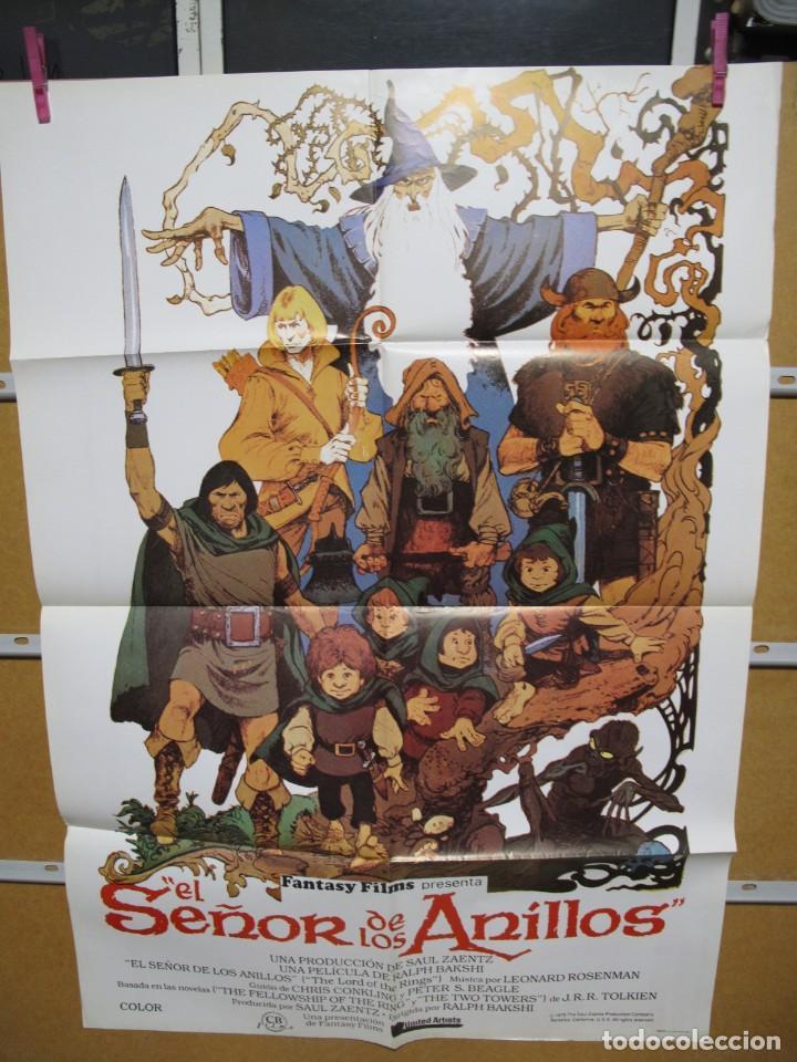 L1716 EL SEÑOR DE LOS ANILLOS (Cine - Posters y Carteles - Aventura)
