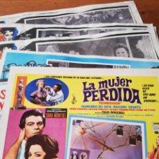 Cine: LOTE DE 7 CARTELES PELÍCULAS DE SARA MONTIEL. MÉXICO. . Lote 147827970