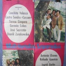 Cine: MATRIMONIOS SEPARADOS - POSTER ORIGINAL CINE - 100 CM X 70 CM. Lote 147971230