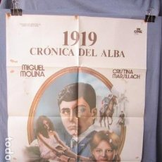 Cine: 1919 CRÓNICA DEL ALBA - PÓSTER ORIGINAL CINE - 100 CM X 70 CM. Lote 147972214