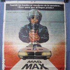 Cine: MAD-MAX SALVAJES DE AUTOPISTA - PÓSTER ORIGINAL CINE - 100 CM X 70 CM. Lote 147982362