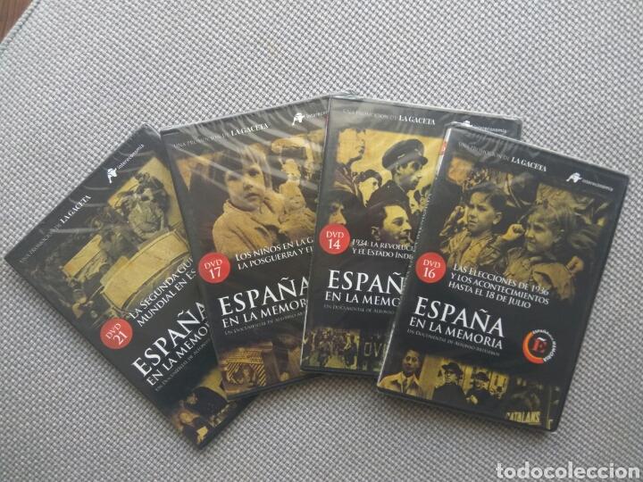 COLECCIÓN - ESPAÑA EN LA MEMORIA - LOTE 3 DVDS - 14, 16, 17 Y 21. (Cine - Posters y Carteles - Documentales)