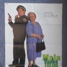 Cine: MALA YERBA - PÓSTER ORIGINAL CINE - 100 CM X 70 CM. Lote 147986658