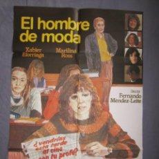 Cine: EL HOMBRE DE MODA - PÓSTER ORIGINAL CINE - 100 CM X 70 CM. Lote 148005486