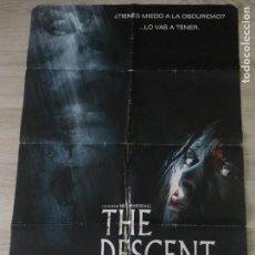Cine: CARTEL THE DESCENT - ORIGINAL - 70 X 100 APROX. Lote 148414910