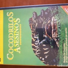 """Cine: NATIONAL GEOGRAPHIC """" COCODRILOS ASESINOS """" . Lote 148543058"""
