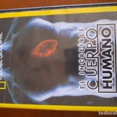 """Cine: NATIONAL GEOGRAPHIC """" EL INCREÍBLE CUERPO HUMANO """" . Lote 148543114"""