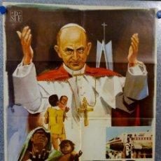 Cine: CRISTO EN LA INDIA. RINALDO DAL FABBRO. AÑO 1966.. Lote 148783822