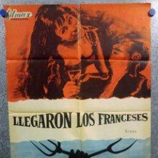 Cine: LLEGARON LOS FRANCESES. ELISA MONTES, LUIS PEÑA . AÑO 1964. Lote 148897254