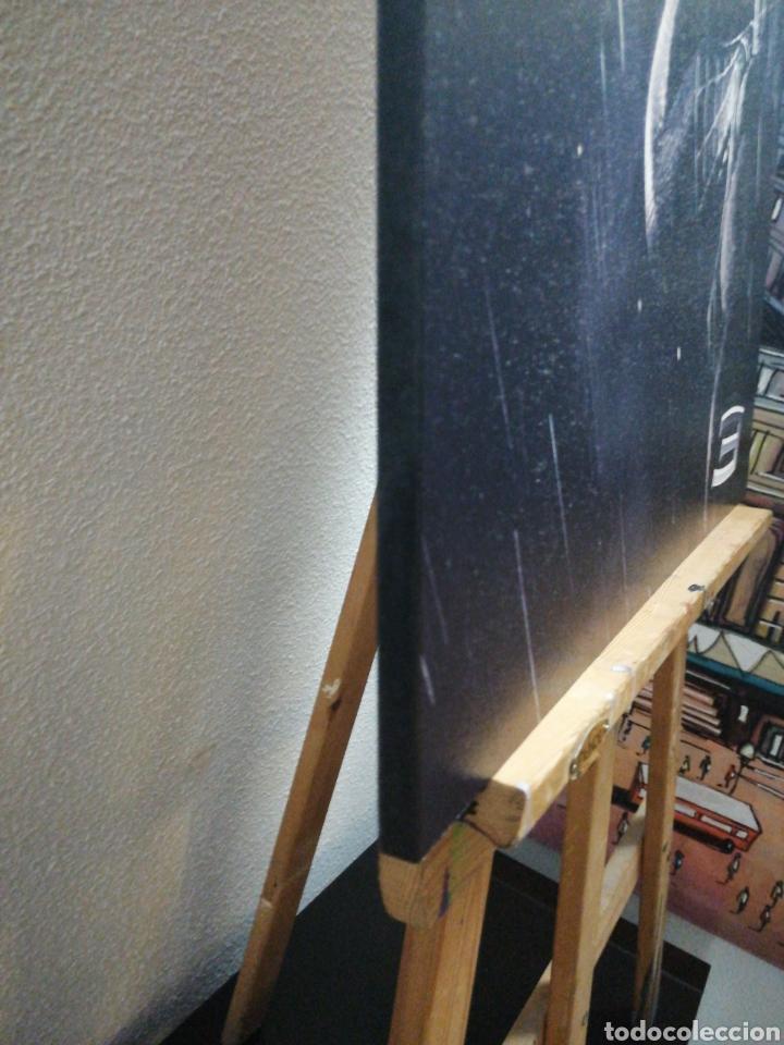 Cine: SPIDERMAN BLACK NEGRO. Cuadro Cartel Cine. Hecho en madera 100x70 cm. Muy Raro - Foto 6 - 149138466