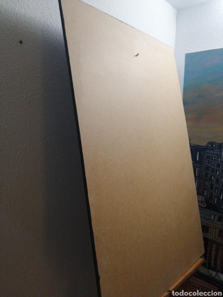 Cine: SPIDERMAN BLACK NEGRO. Cuadro Cartel Cine. Hecho en madera 100x70 cm. Muy Raro - Foto 7 - 149138466