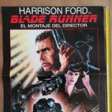 Cine: POSTER BLADE RUNNER EL MONTAJE DEL DIRECTOR. Lote 149248006