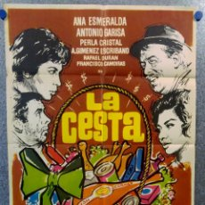 Cine: LA CESTA. ANA ESMERALDA, ANOTNIO GARISA, LINA MORGAN. AÑO 1964. Lote 149249410