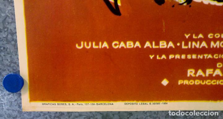 Cine: LA CESTA. ANA ESMERALDA, ANOTNIO GARISA, LINA MORGAN. AÑO 1964 - Foto 5 - 149249410