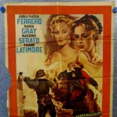 Cine: EL HALCON DE ORO. ANNA MARIA FERRERO, NADIA GRAY, FRANK LATIMORE. AÑO ESTRENO ESPAÑA. Lote 149250462