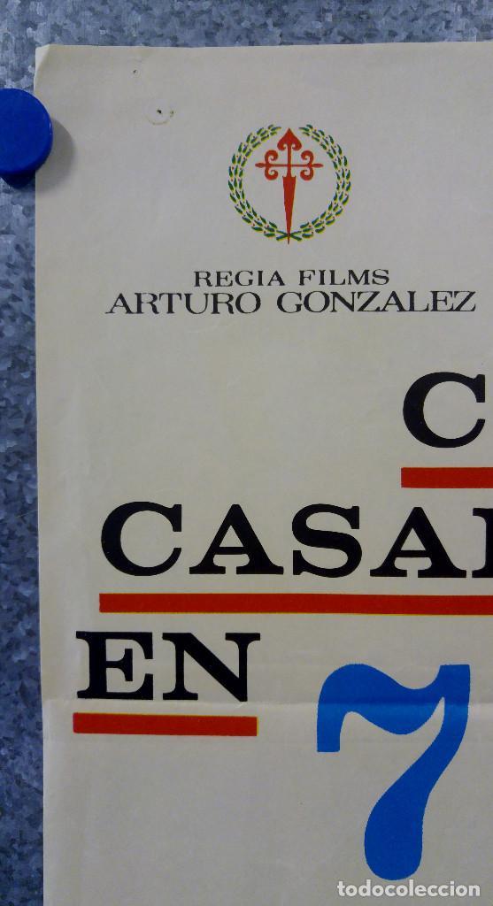 Cine: COMO CASARSE EN 7 DIAS. GRACITA MORALES, JOSE SAZATORNIL, OZORES, JOSE SACRISTAN. AÑO 1970 - Foto 2 - 149251218