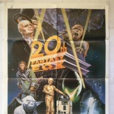Cine: 20TH FANTASY FOX - POSTER CARTEL ORIGINAL - STAR WARS LA MOMIA SIMIOS. Lote 149303614