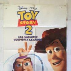 Cine: TOY STORY 2 - POSTER CARTEL ORIGINAL - DISNEY BUZZ LIGHTYEAR JOHN LASSETER. Lote 149307038