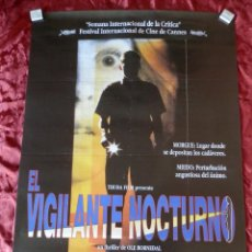Cine: POSTER CARTEL ORIGINAL PELICULA: EL VIGILANTE NOCTURNO. Lote 149338101