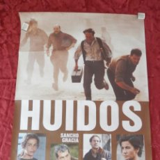 Cine: POSTER CARTEL ORIGINAL PELICULA: HUIDOS SANCHO GARCIA SARA MORA. Lote 149338341