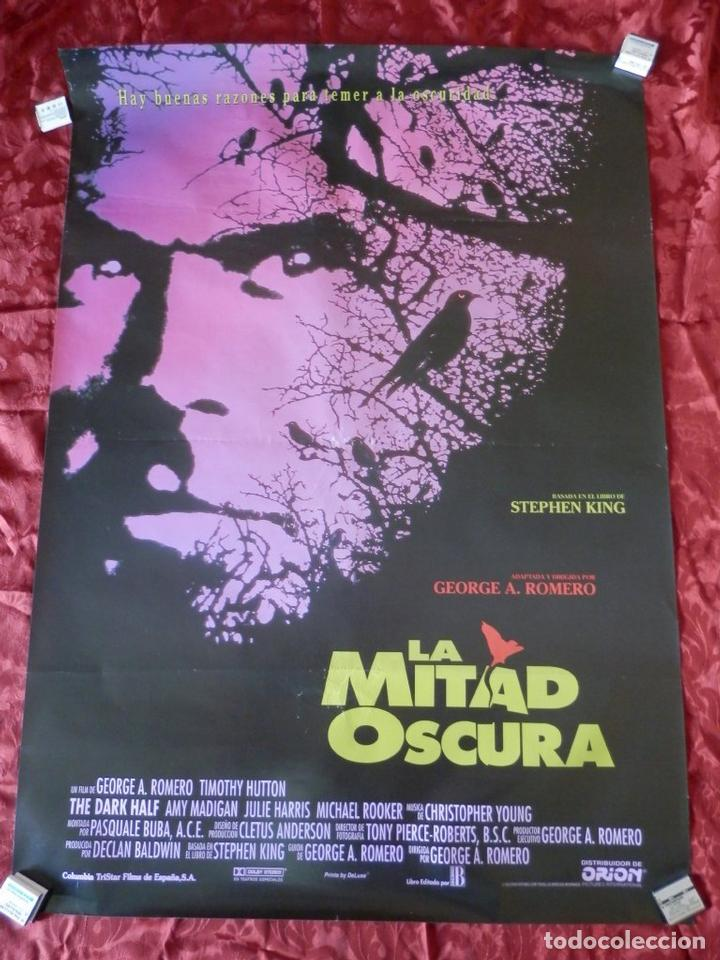 POSTER CARTEL ORIGINAL PELICULA: LA MITAD OSCURA STEPHEN KING (Cine - Posters y Carteles - Acción)